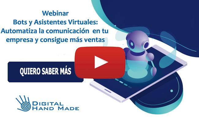 Grabación Webinar Bots y Asistentes Virtuales
