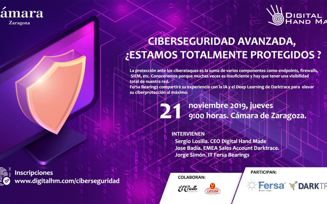 Desayuno Tecnológico «Ciberseguridad Avanzada» 21 de Noviembre