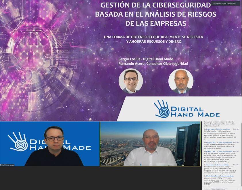 Resumen y Grabación Taller Fernando Acero Ciberseguridad