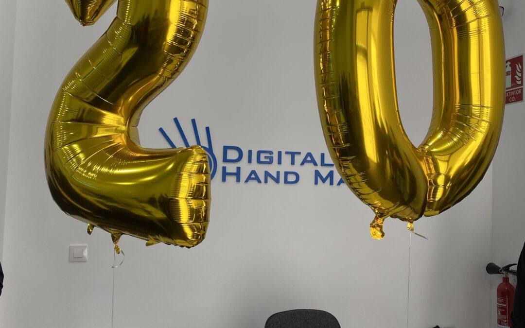 Digital Hand Made celebra su 20 Aniversario inaugurando ampliación de oficinas